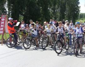 «Большие гонки» в Кольцово Новосибирской области при участии «Школы юного пешехода»