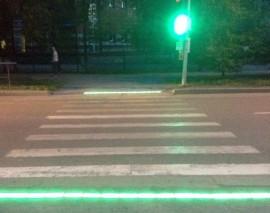 В Тюмени установили инновационный экспериментальный светофор