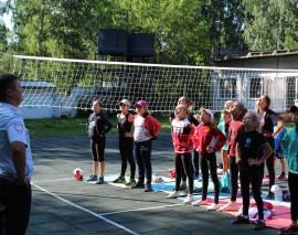 Юные спортсмены ДСЛ «Чемпион» приняли участие в «Зарядке со стражами порядка»
