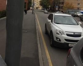 ОДОО «Школа юного пешехода» провела очередной рейд в ЦАО