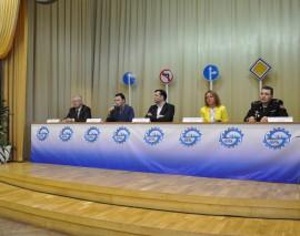 Пресс-конференция «ЮИД за безопасность на дорогах»