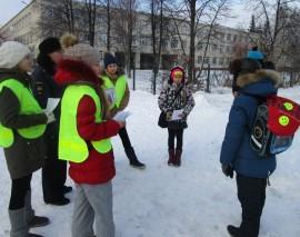«Пешеход, на переход!» акция в Новосибирске