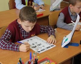 Первоклассники московской школы 2103 стали лидерами Единого урока безопасности.