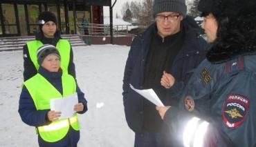 «Нет ДТП-День безопасных дорог!» – призывают жителей Бердска Новосибирской области соблюдать транспортную культуру