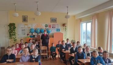 «Урок мужества» прошёл для школьников Новосибирского района