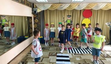 До 10 июня продолжается тестирование знаний дошкольников по первой части проекта «Школы юного пешехода» по пособиям «Путешествие на зелёный свет».