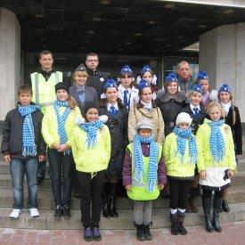Акция 01 октября 2010 года в рамках проекта «Безопасные дороги», посвящённая Дню пожилого человека