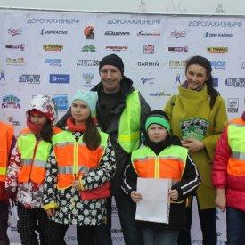 Акция «Безопасность пожилого человека на дороге» прошла в парке «Skazka»